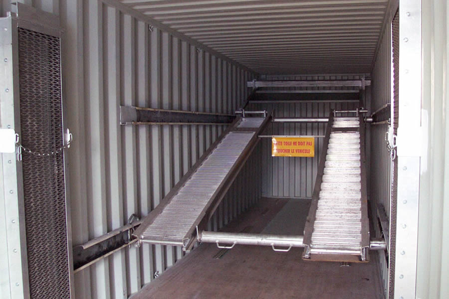 Location et vente de conteneurs maritimes box pour for Amenager un container