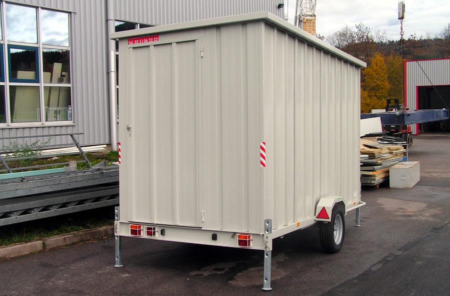 location et vente de roulottes de chantier de 750 kg 1 7 t vosges environnement. Black Bedroom Furniture Sets. Home Design Ideas